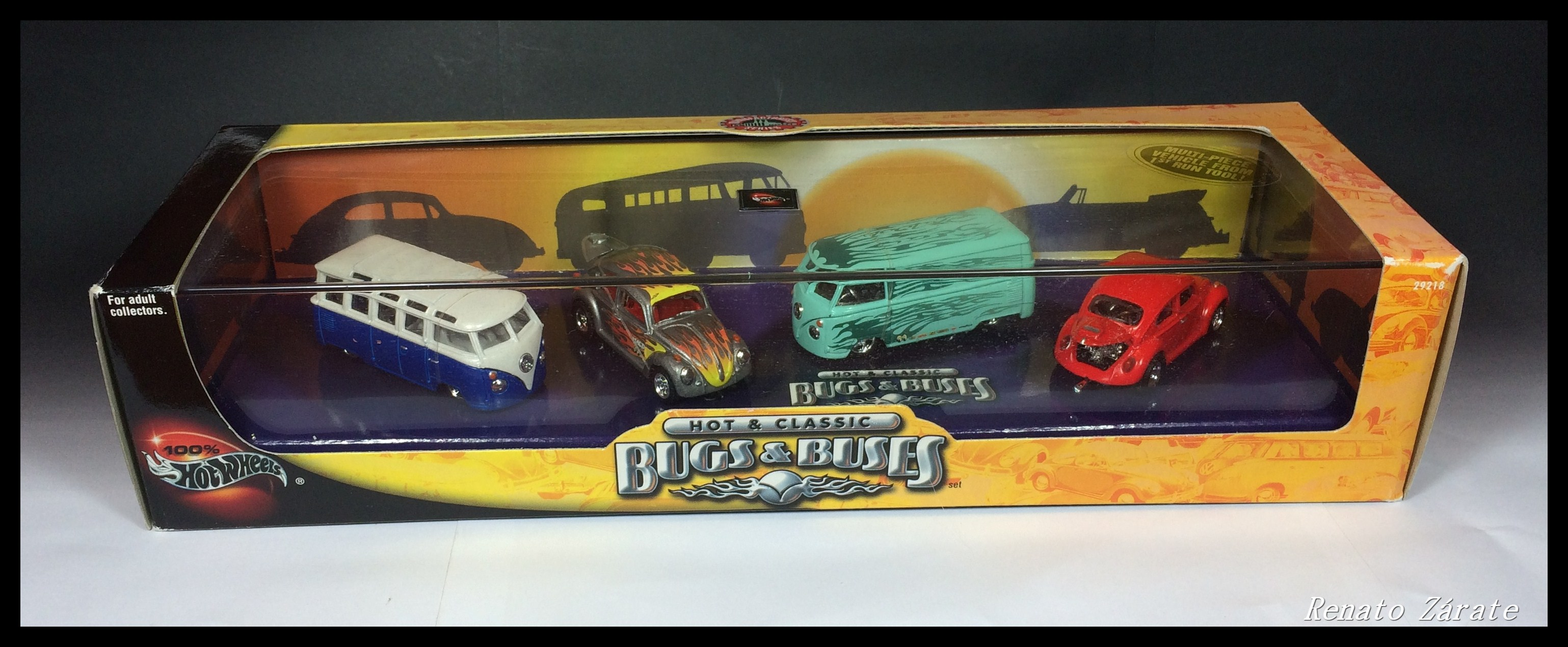Hot & Classic - Bugs & Buses 4-Car Set