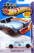 '70 Chevy Chevelle SS - X1623 Card