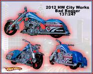 2012 HW City Works Bad Bagger 137-247