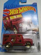 HW Armored Truck Dark Red