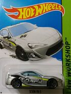 2015 237-250 HW Workshop - Then and Now - Scion FR-S '86 Evasive' Silver