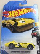 Corvette GS Roadster. 2019 (Yellow)