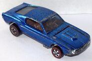 Custom Mustang USA blue-lightbrown