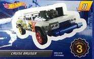 Mystery Model series 3 - 11 of 12 Cruise Bruiser - Sticker