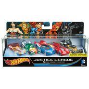 Veiculo-Hot-Wheels---Personagens-DC-Comics---Pack-com-5-Veiculos-Sortidos---Mattel-7