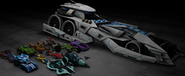 Hot Wheels Battle Force 5 Wii Car Pack