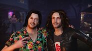Arin and Dan in House Party