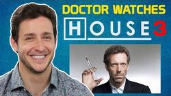 """Real Doctor Reacts to HOUSE M.D. -3 - """"All In"""" - Medical Drama Review"""