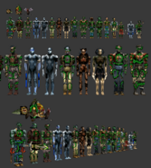 The House of the Dead 2 creature models