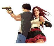 Golden gun official character artwork