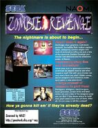 Zombie Revenge flyer2 back