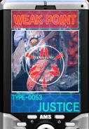 JusticeWeakPointScan