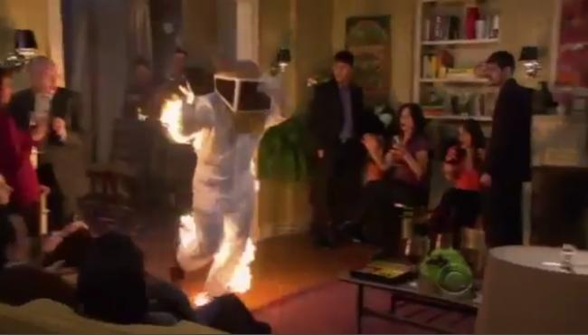 Der brennende Bienenzüchter
