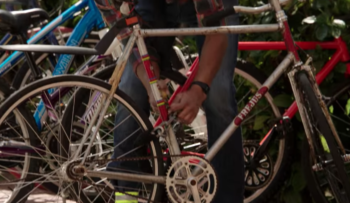 Bicicleta de Wes