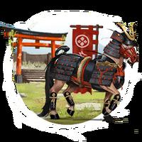 Japanische Pferde