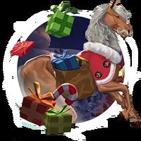 Weihnachtspferde