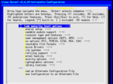 How to configure the Linux kernel
