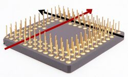 Pin grid array straghtening pins w knife.jpg