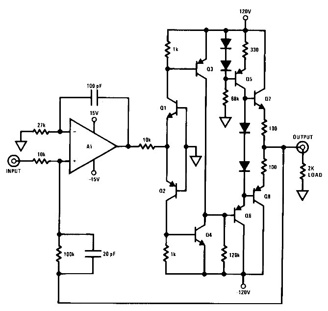 How to boost the output voltage swing of an operational amplifier