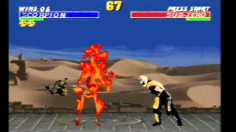 Ultimate Mortal Kombat Trilogy (Scorpion) - Mega EverDrive Deluxe
