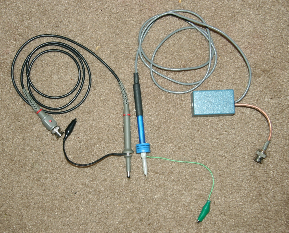 How to make a 100X oscilloscope probe