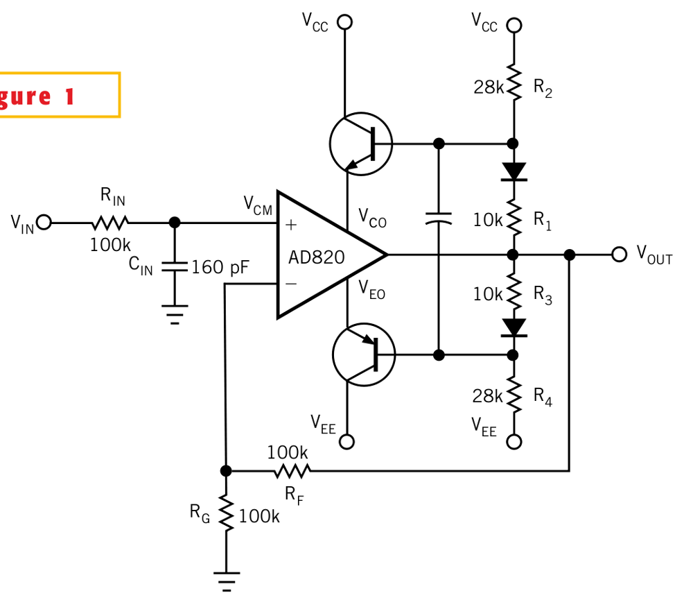 Op-amp voltage booster schematic.png