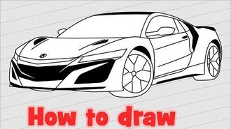 How_to_draw_Honda_Acura_NSX_2020