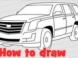 Cadillac Escalade Drawing