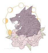 Cool Wolf Design