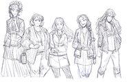 HTBAW Fashion Girls
