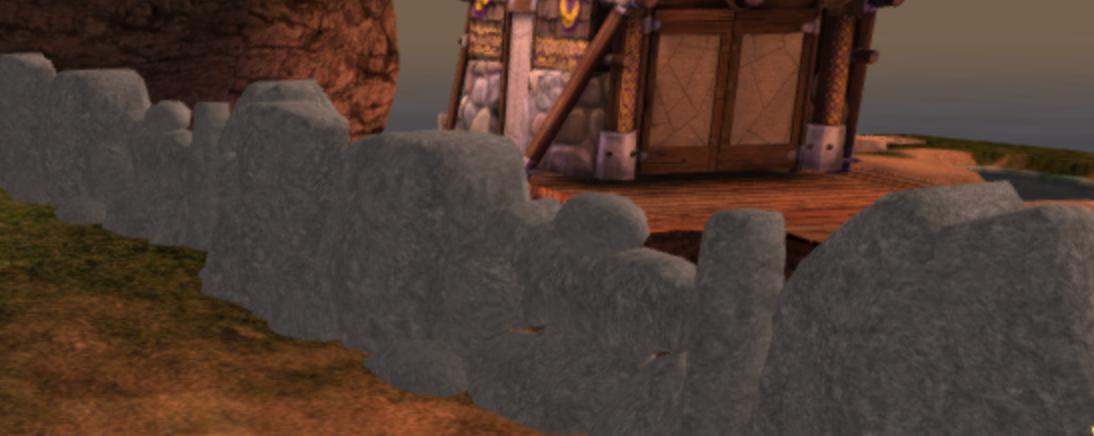 Dragon's Edge Wall