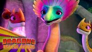 The Singing Songwing Dragon DRAGONS RESCUE RIDERS NETFLIX