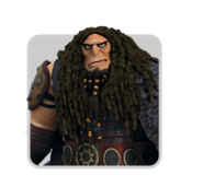Human Icon-Drago Bludvist