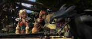 THW-Astrid, Hiccup, Toothless-2