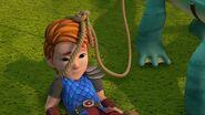 PE - Dak with a rope iaround his head