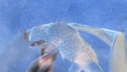 Snowwraith attacking gothi