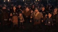 HTTYD Homecoming-The people begins to gather