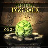 Egg Sentinel in SOD
