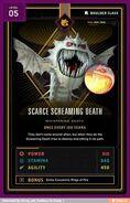 Screaming Death card