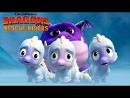 Baby Chillblaster Dragons - DRAGONS RESCUE RIDERS - NETFLIX