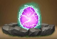 Lavender Skrill Egg