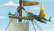 DW - Pulling Elbone's boat