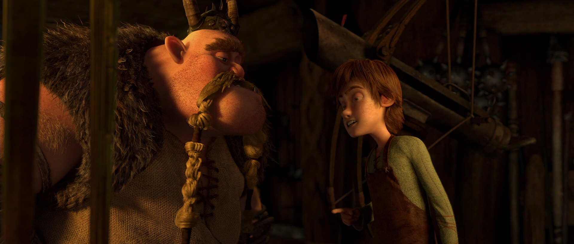 Gobber and Hiccup's Relationship