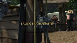 Click here to view more images from Saving Shattermaster.
