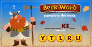 ROB-Berk Word Turkey