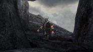 DOB - A berserker guard walks throughout Outcast Island