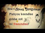How to Speak Dragonese- Dragonese Day
