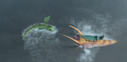 Submaripper and Shellfire in battle.PNG