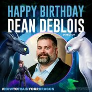 Happy Birthday Dean DeBlois