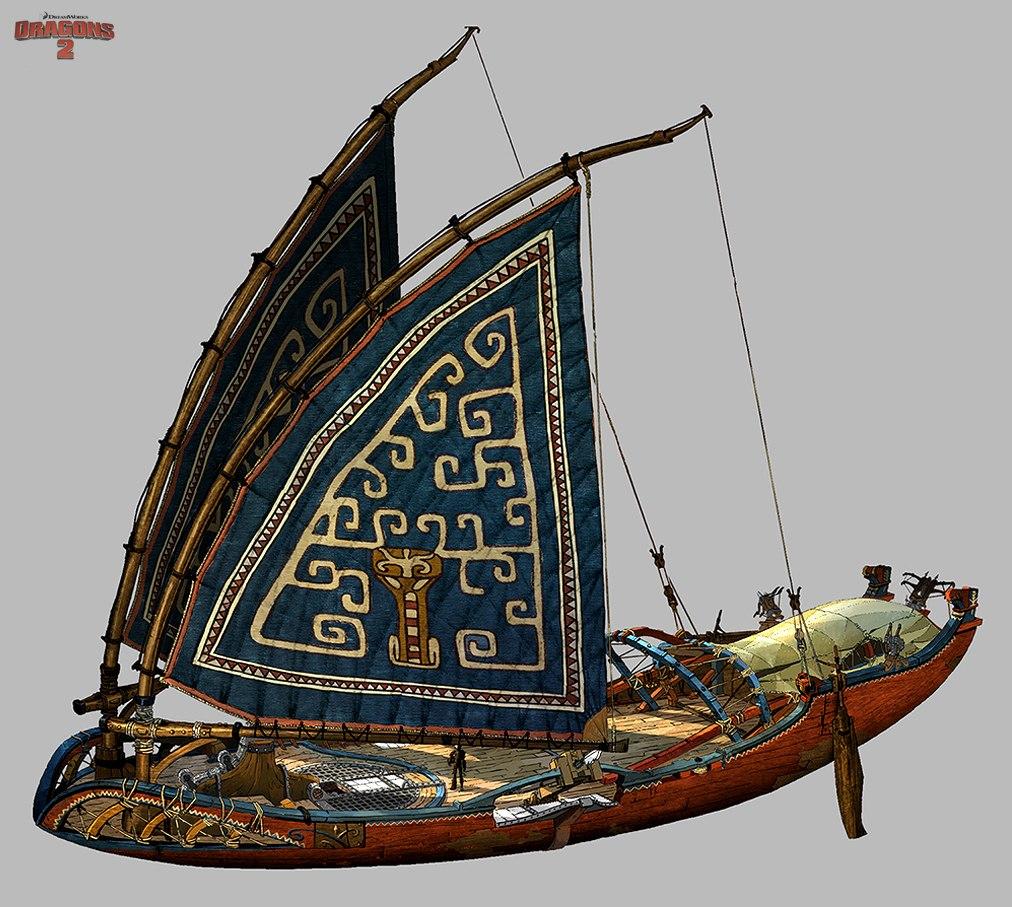 Eret's Ship